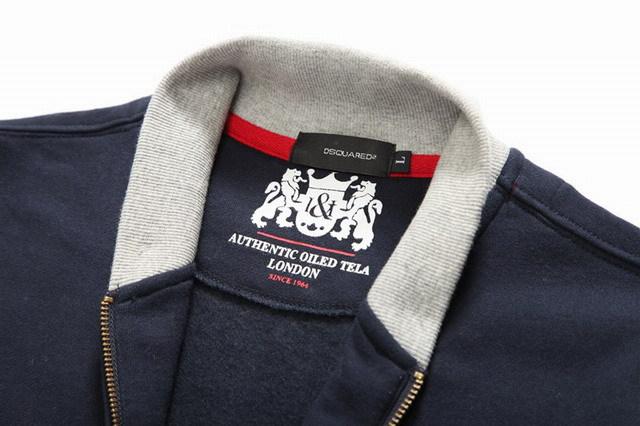 survetement dsquared2 hommes mode britannique classique marque chaud bleu ty 56d7c2ad7bc