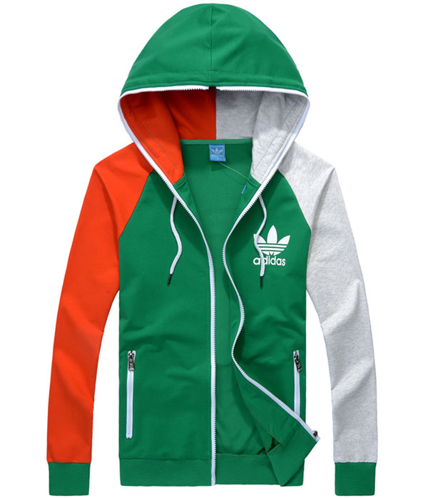 eede1dab06 veste homme adidas adi hooded firebird green hiver silver de <veste ...