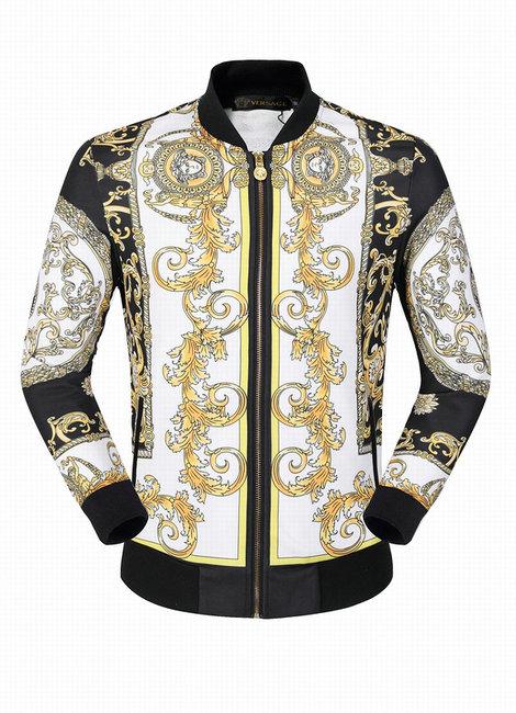 55cab1a48c7 ... zipper cardigan black · veste versace sport hommes sweatshirt double  head logo