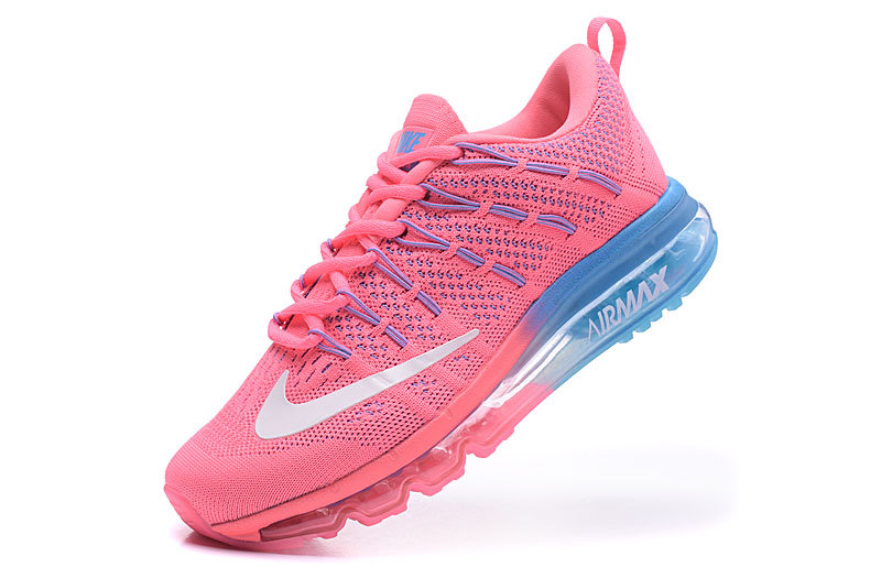 femmes basket nike air max 2016 six color bleu pale rose. Black Bedroom Furniture Sets. Home Design Ideas